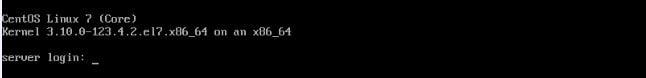 Upgrade  from CentOS 6 to CentOS 7 - Login