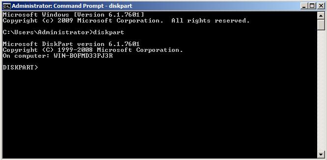 extend filesystem