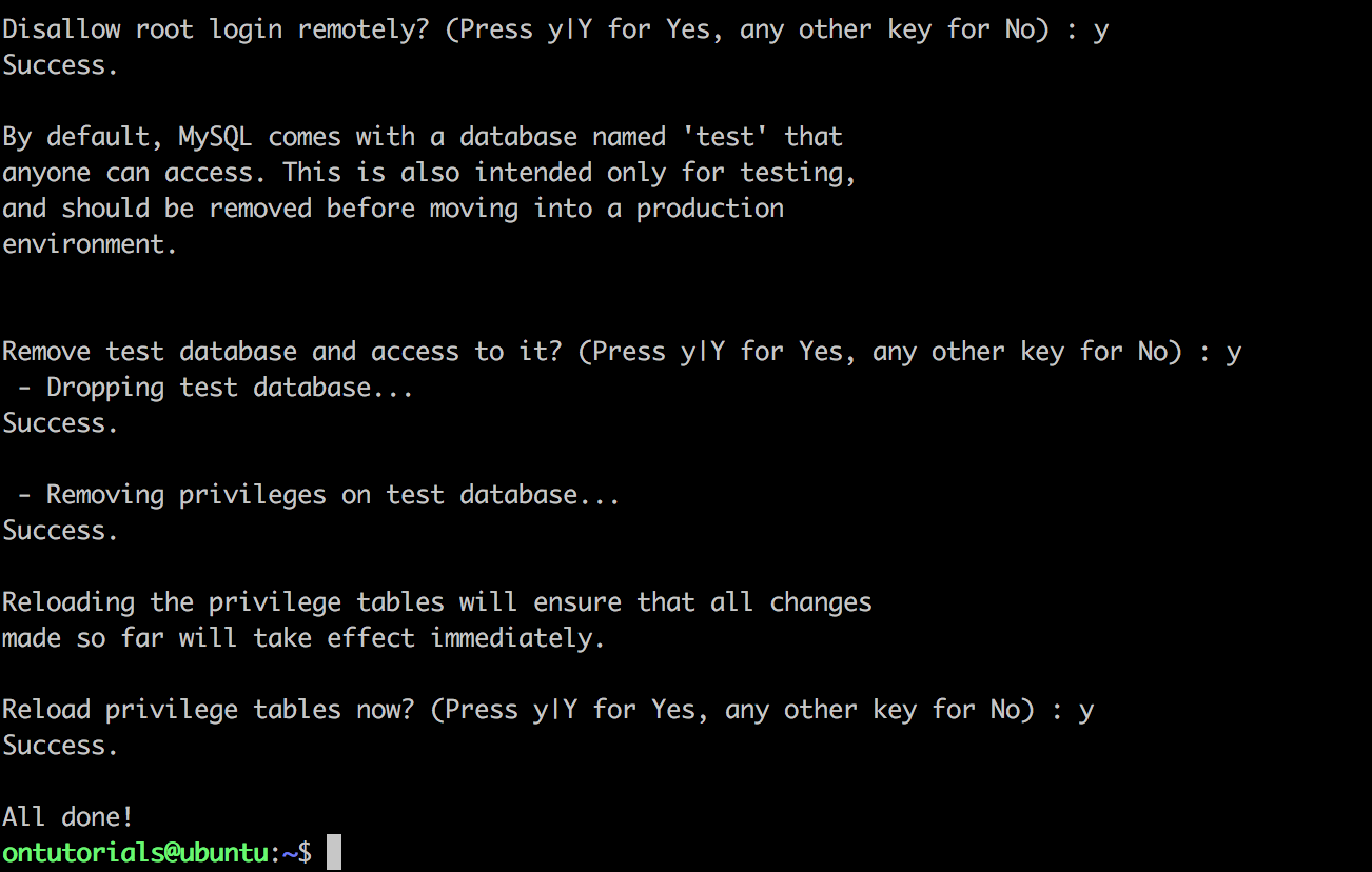 mysql_secure_setup_process
